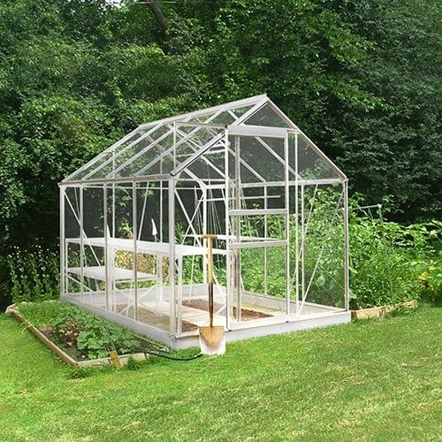Bruka 5,0 m² Växthus Aluminium, Glas, Ja