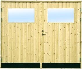 Garageport 18° Rak Panel Glas M25x21