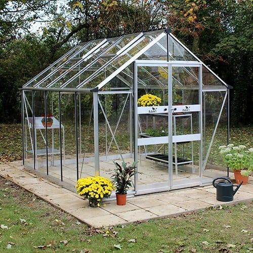 Odla 8,2 m² Växthus Aluminium, Glas