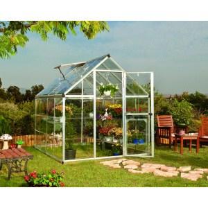 Växthuset Harmony har en yta på 4,6 m²