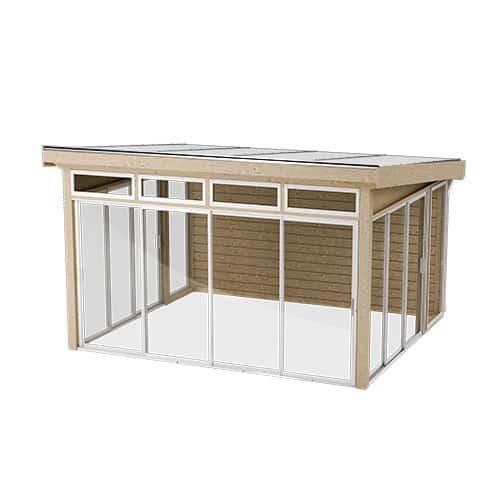 Önska Komplett uterum Fristående 41 x 36 (14,5 m²) Förlängd sommar, Nej, Förlängd sommar