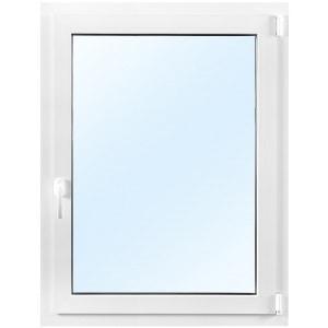 3-glasfönster PVC - Inåtgående - 1 luft - U-värde 0,96