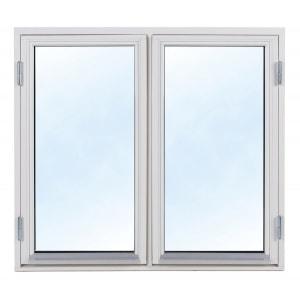 3-glasfönster Trä utåtgående - 2-Luft - U-värde 1,1 1