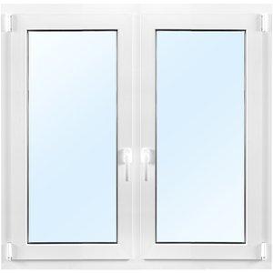 2-glasfönster PVC - Inåtgående - 2 luft