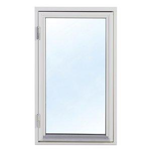 2-glasfönster Trä utåtgående - 1-Luft - Vit 1