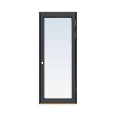 Fönsterdörr/altandörr Energi Aluminium 10, 21/21, Antracitgrå