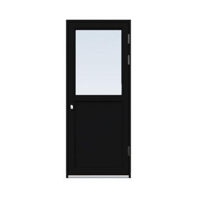 Fönsterdörr/altandörr Energi Aluminium 8, 20/12, Svart