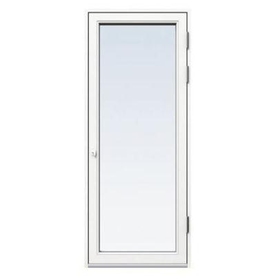 Fönsterdörr/altandörr Energi Aluminium 8, 21/21, Vit