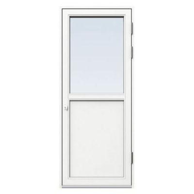 Fönsterdörr/altandörr Energi Aluminium 9, 21/13, Vit