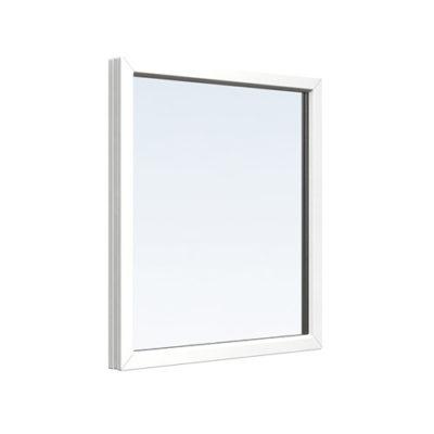 Fast fönster av PVC PVC-fönster fast 5, 8, 2-glas 1,3