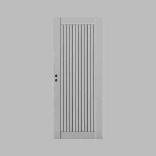 Innerdörr Ramsö Grunda Design 7 x 20, Grå