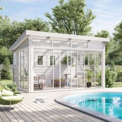 Fristående 41 x 36 (14,5 m²) Önska Komplett uterum Ja, Sommar, Sommar