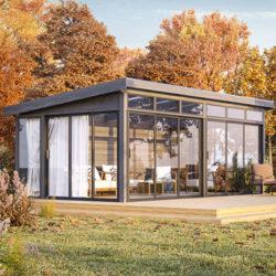Fristående 60 x 36 (21,4 m²) Önska Komplett uterum Ja, Sommar, Sommar